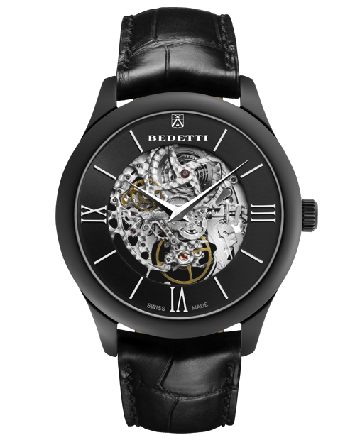 Ferro skeleton total black
